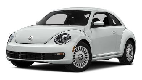 New Volkswagen Beetle near Rome