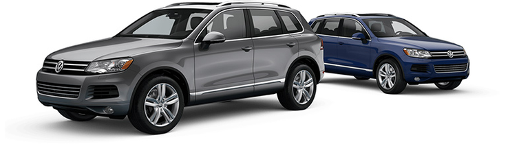 New Volkswagen Touareg near Bay Ridge