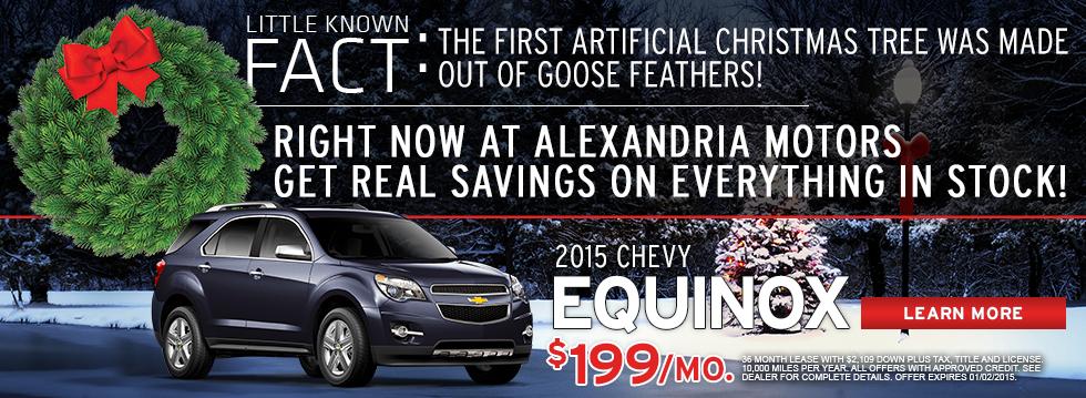 2015 Chevy Equinox!