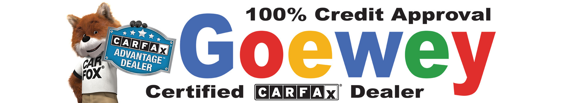 Team Goewey is CARFAX Approved!