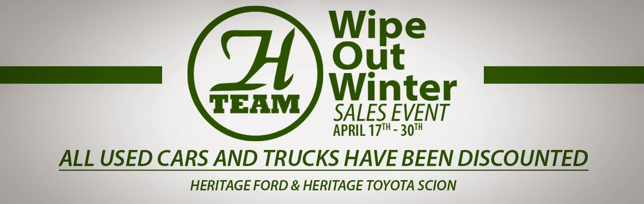 Wipe Out Winter Sale