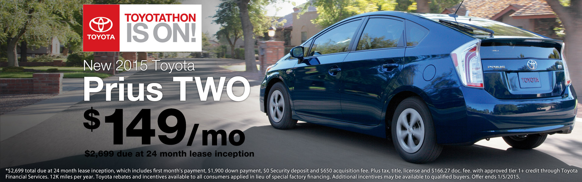 2015 Prius TWO