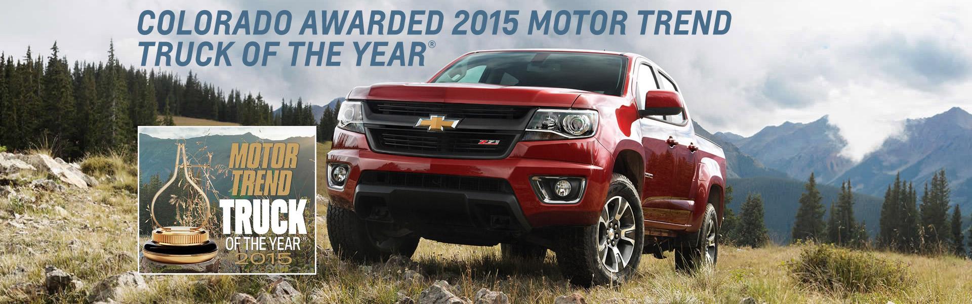 Chevy Colorado- Motor Trend