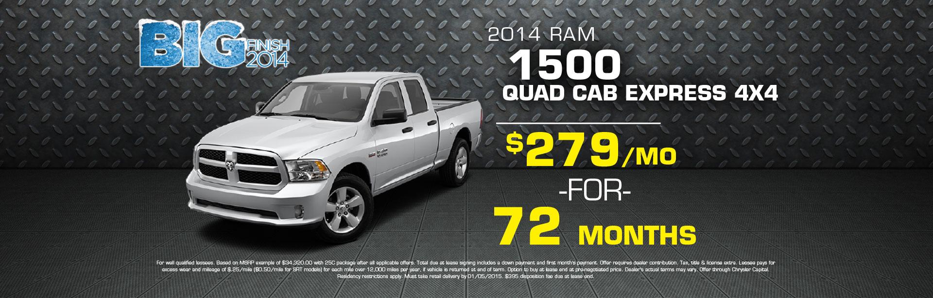 2014 Ram 1500 Quad Cab Express