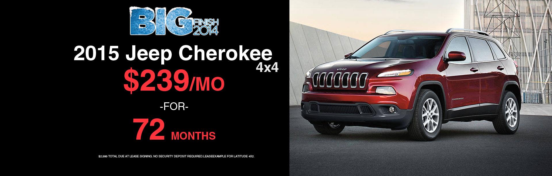2015 Jeep Cherokee 4x4