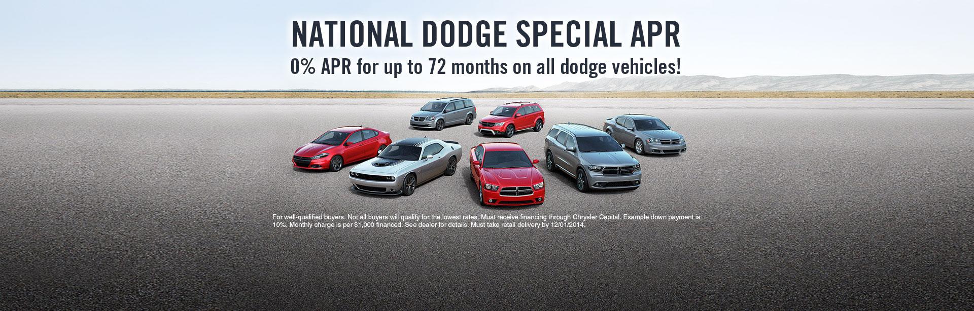 Dodge Special APR