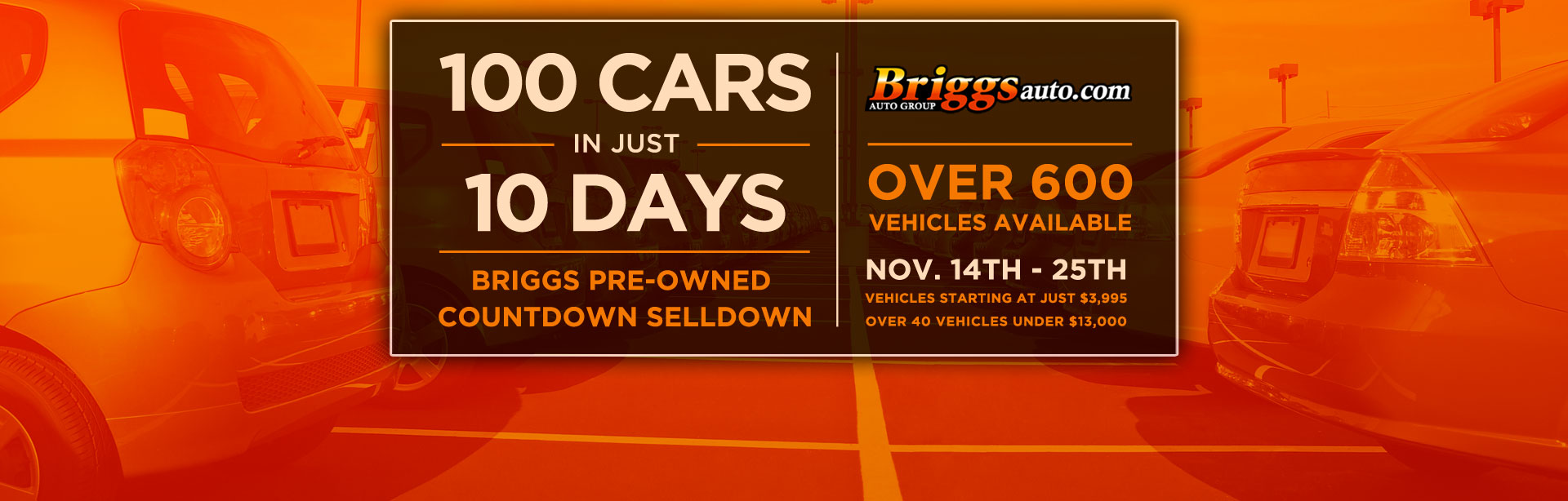 100 Cars 100 Days