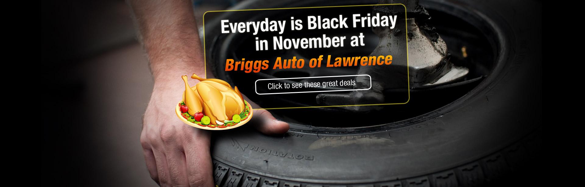 Black Friday in November