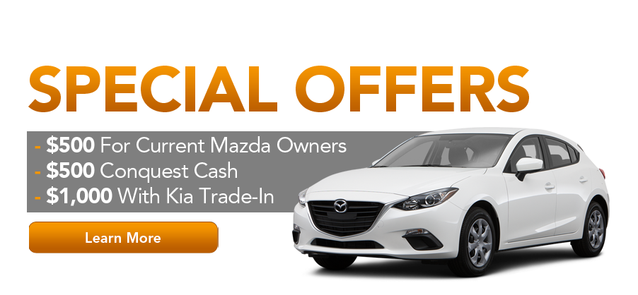Mazda 3 Special Offers