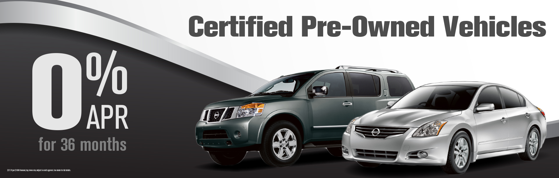 0% APR Certified Pre-Owned