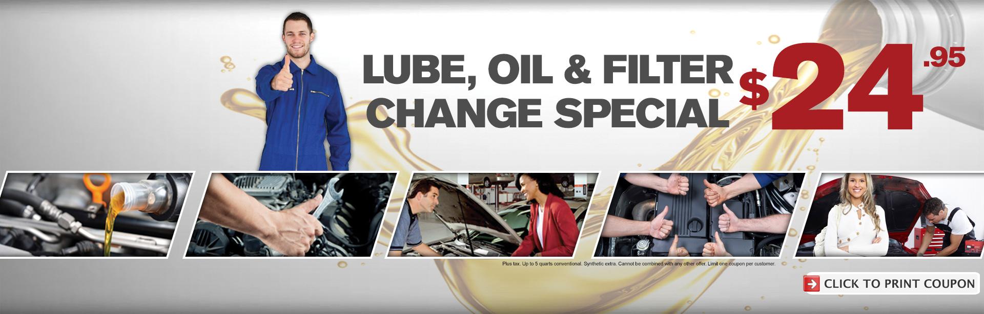 Oil Change Special - Bay Automotive - Norfolk VA