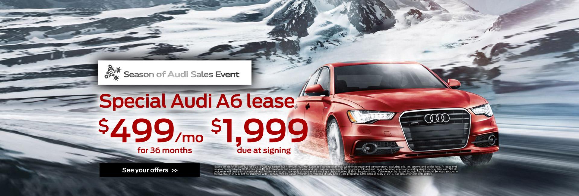 Audi Sales Event A6