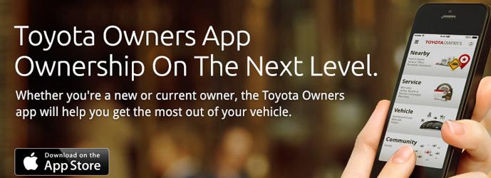 Toyota Owner App