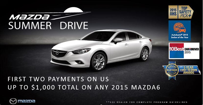 Mazda Summer Drive