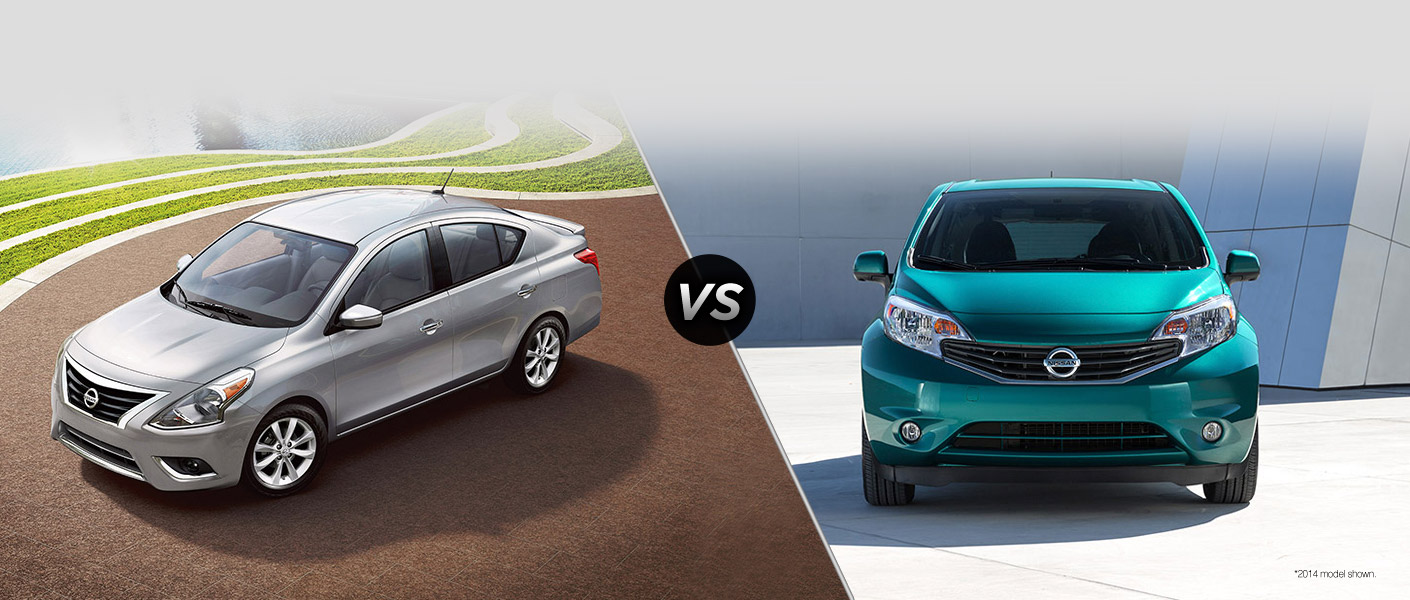 2015 Nissan Versa Vs 2015 Nissan Versa Note Houston Tx