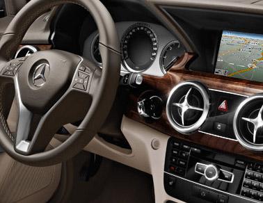 New <ercedes-Benz GLK-Class interior