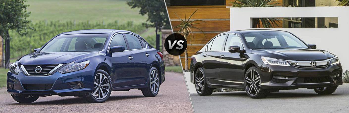 2016 Nissan Altima vs 2016 Honda Accord