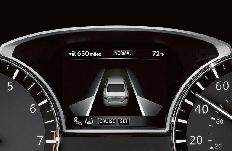 2016 Nissan Altima dashboard