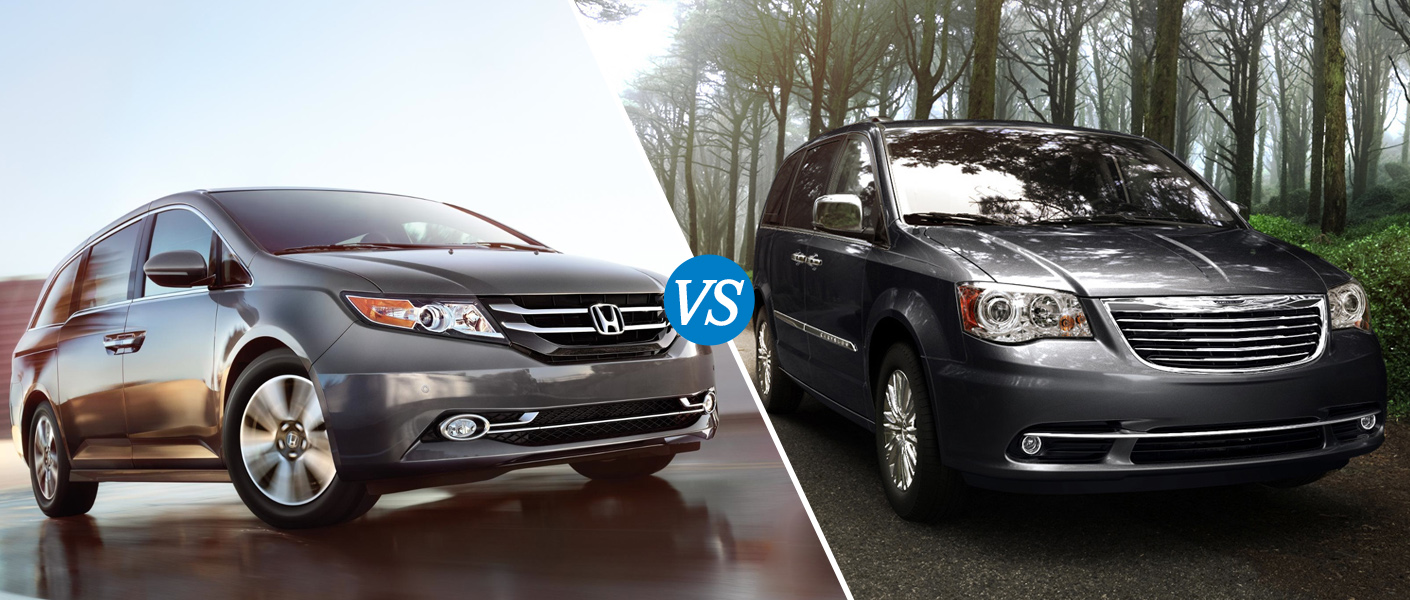 2014 honda odyssey vs 2013 chrysler town and country. Black Bedroom Furniture Sets. Home Design Ideas