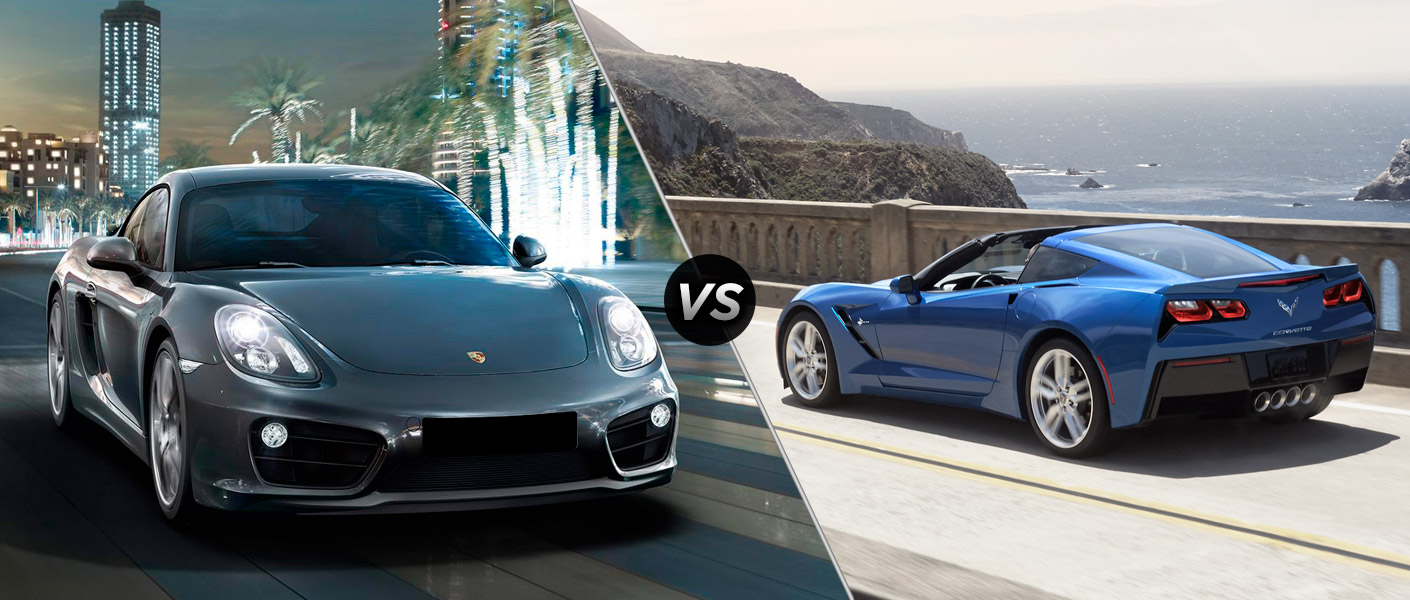clp  porsche cayman vs chevy corvette stingray