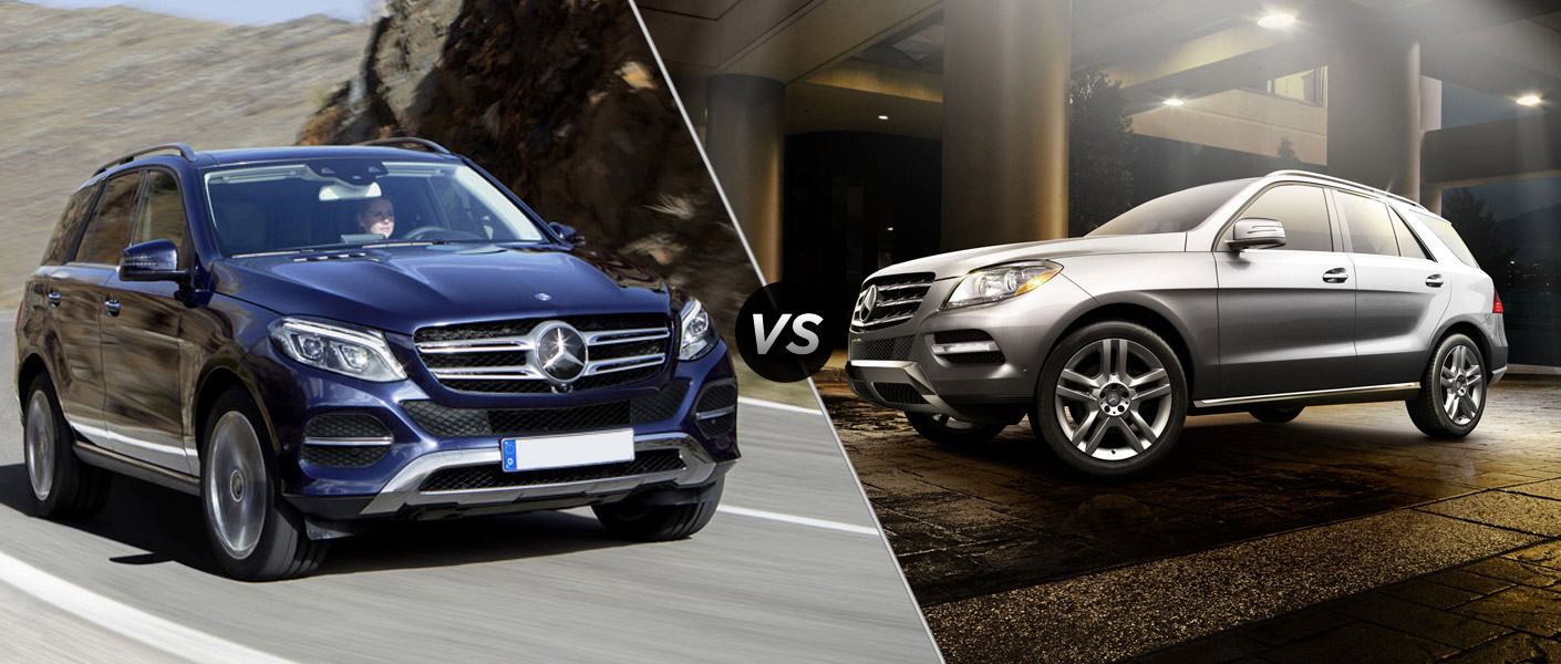 2016 mercedes benz gle350 vs mercedes benz ml350. Black Bedroom Furniture Sets. Home Design Ideas