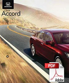 2014 Honda Accord Brochure