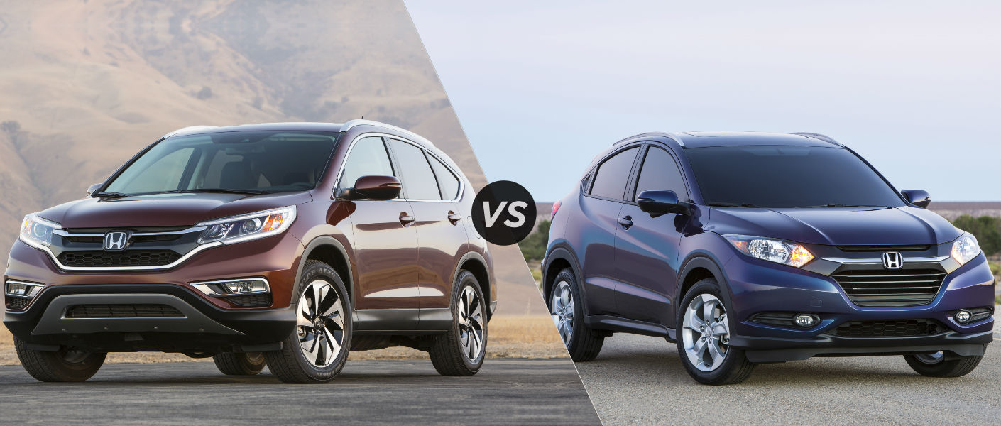 2015 honda cr v vs 2016 honda hr v