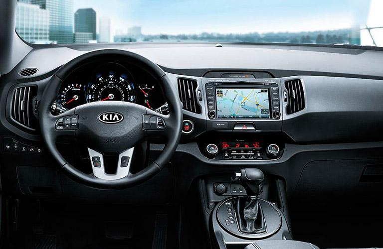 2014 Kia Sportage Interior
