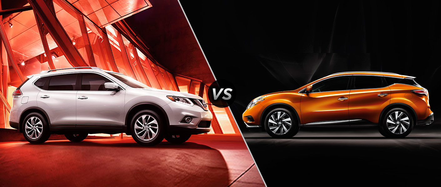 Yuba City Nissan >> 2015 Nissan Rogue vs 2015 Nissan Murano