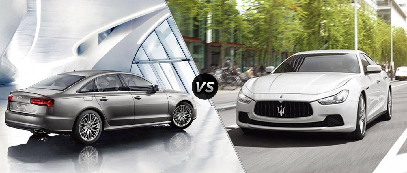 2016 Audi A6 vs 2016 Maserati Ghibli
