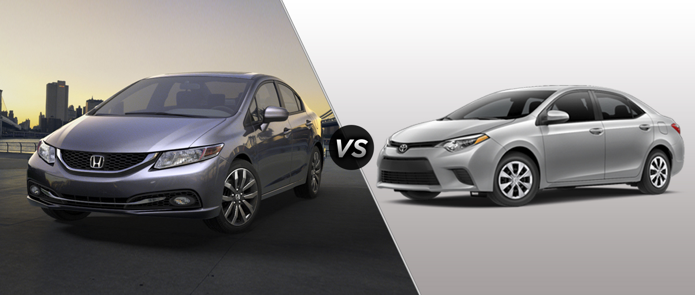 2015 honda civic vs 2015 toyota corolla. Black Bedroom Furniture Sets. Home Design Ideas