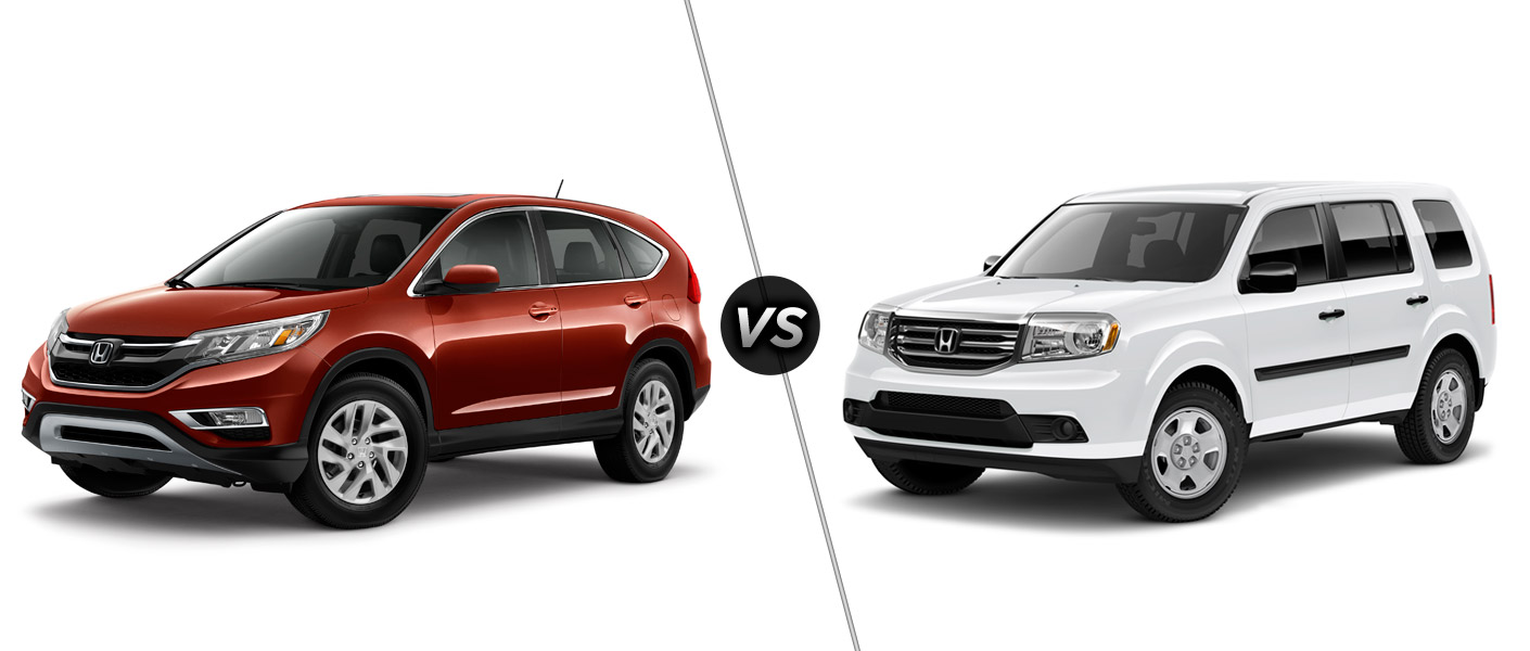 2015 honda cr v vs 2015 honda pilot. Black Bedroom Furniture Sets. Home Design Ideas