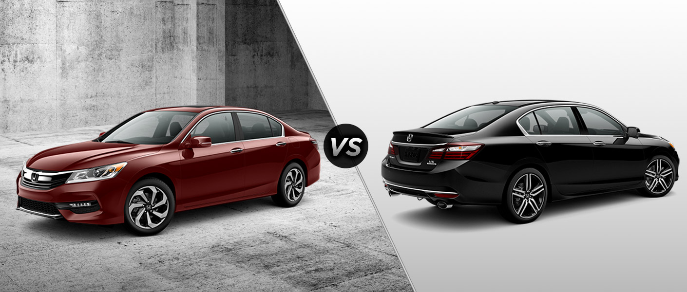 2016 honda accord ex l vs 2016 honda accord touring