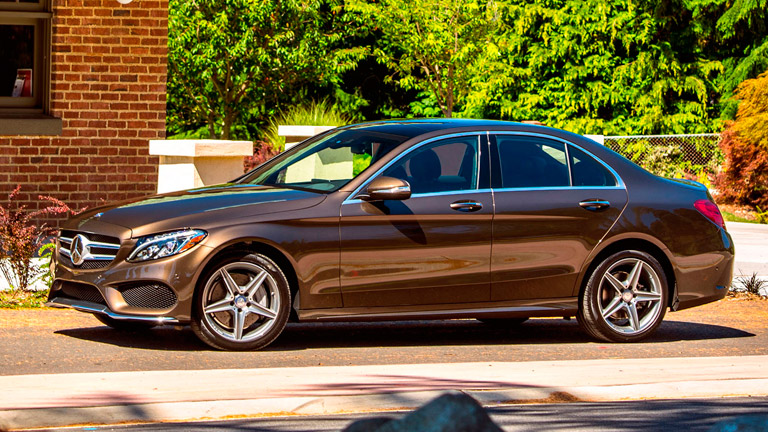 2015 mercedes benz c class vs 2015 bmw 3 series for Maintenance cost for mercedes benz c300