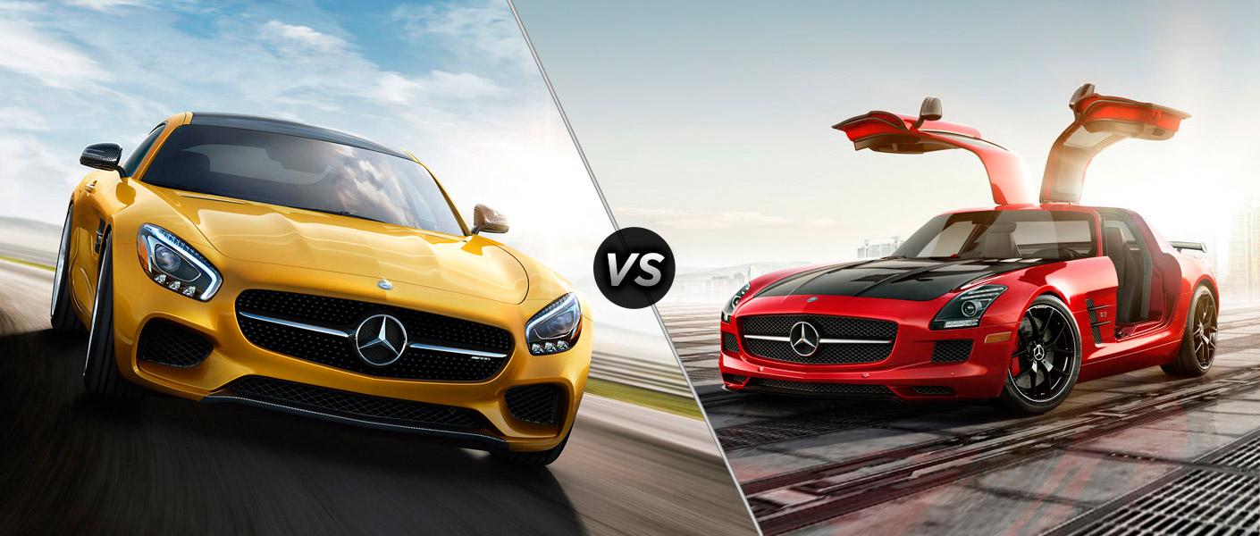 2016 mercedes amg gt vs mercedes benz sls amg for Mercedes benz customer satisfaction ratings