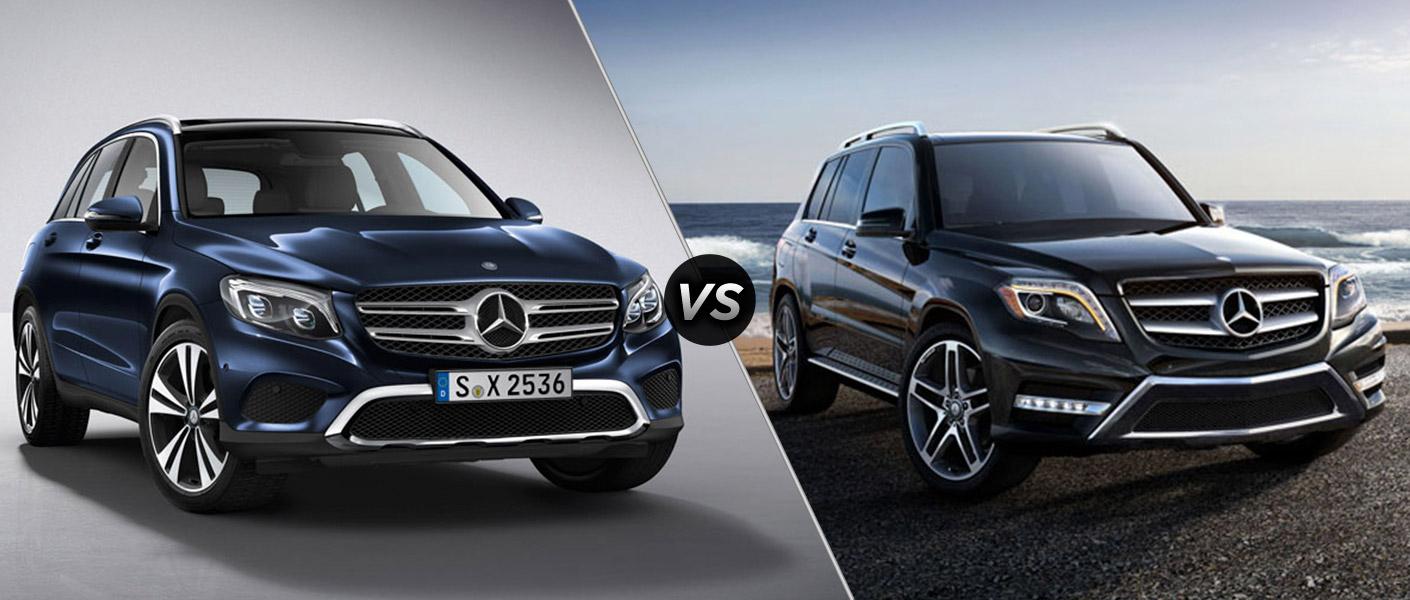 2016 mercedes benz glc vs mercedes benz glk for Mercedes benz customer satisfaction ratings