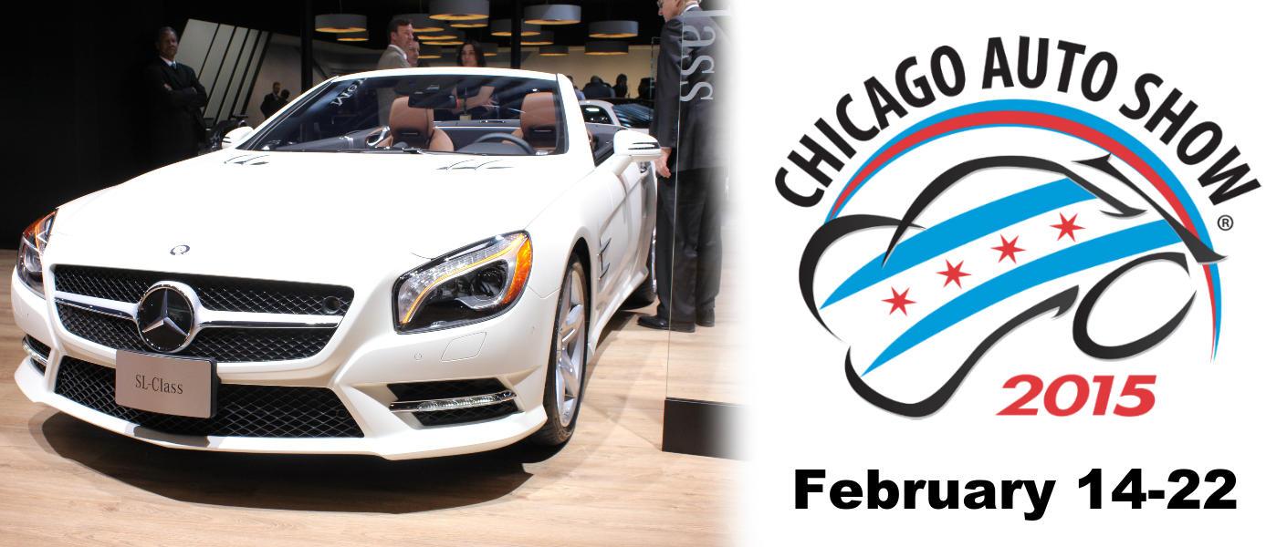 Mercedes benz and porsche debuts 2015 chicago auto show for Loeber motors mercedes benz