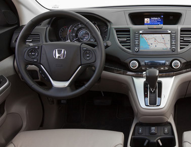 2014 Honda CR-V class leading features