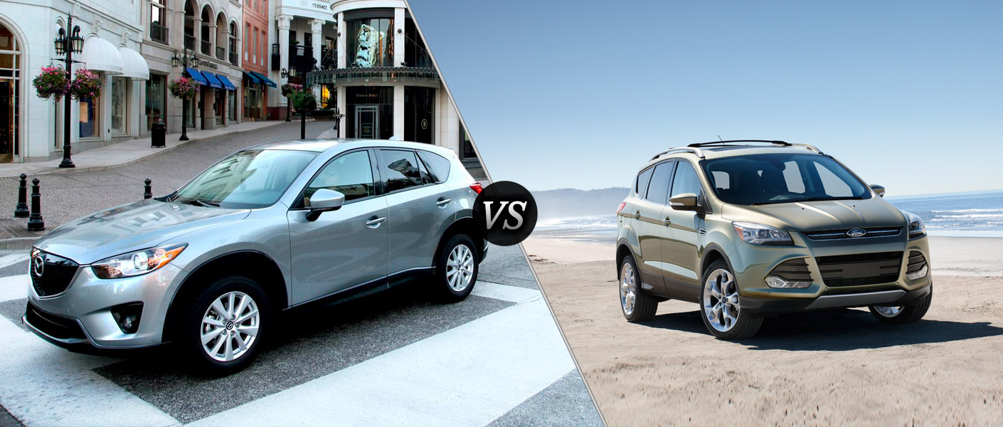 2014 Mazda CX-5 vs. 2013 Ford Escape