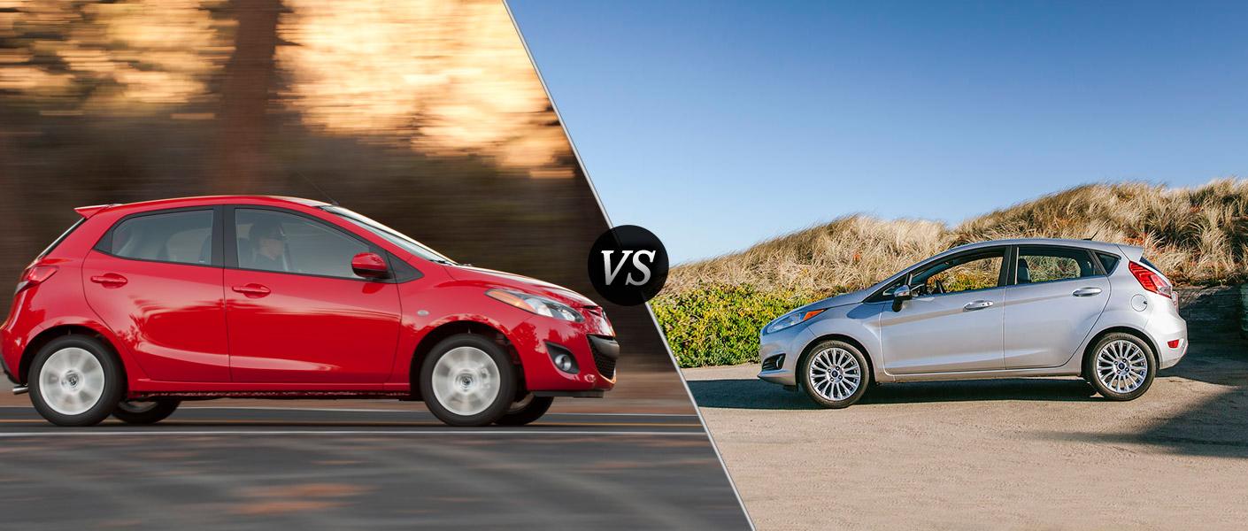 2014 Mazda2 vs. 2014 Ford Fiesta