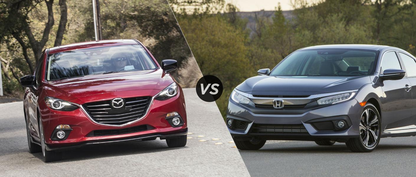 2016 Mazda 3 vs 2016 Honda Civic