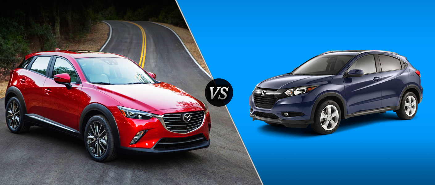 2016 mazda cx 3 vs 2016 honda hr v