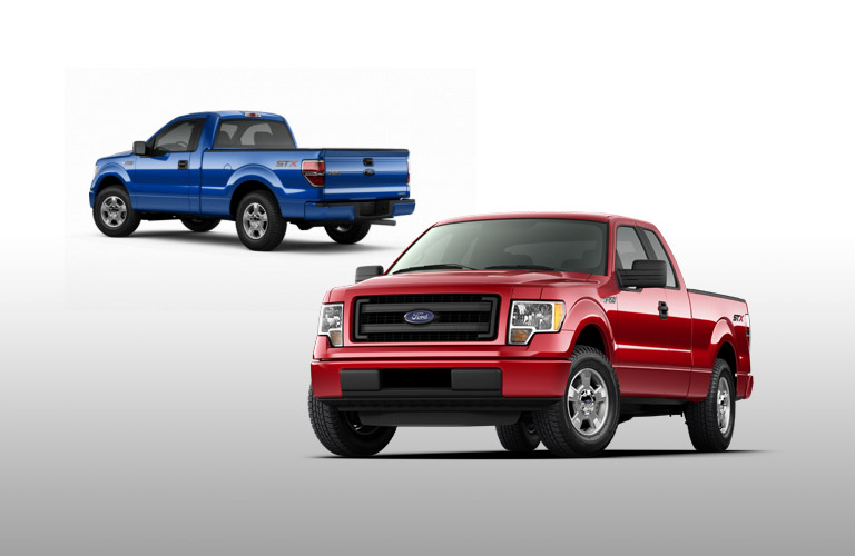Get the 2014 Ford F-150 in FL