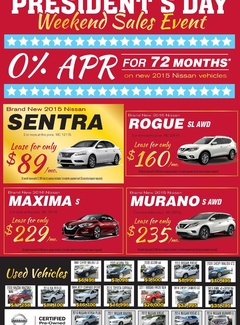President's Day Weekend Sales Event