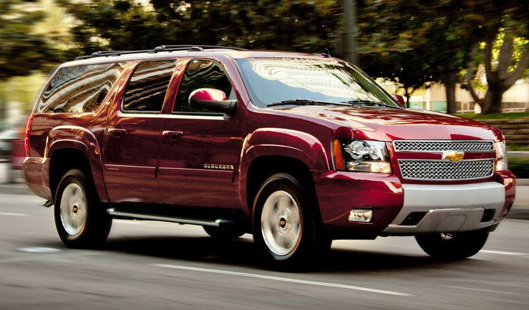 2016 Chevy Suburban at Osseo Auto in Eau Claire