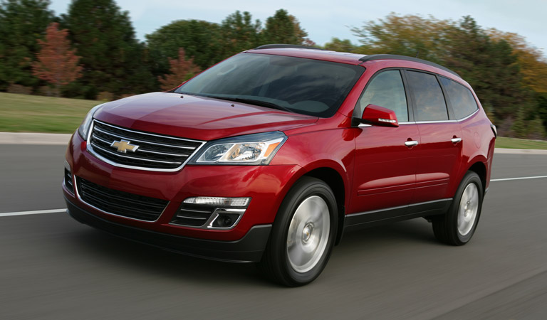 2016 Chevy Traverse at Osseo Auto in Eau Claire
