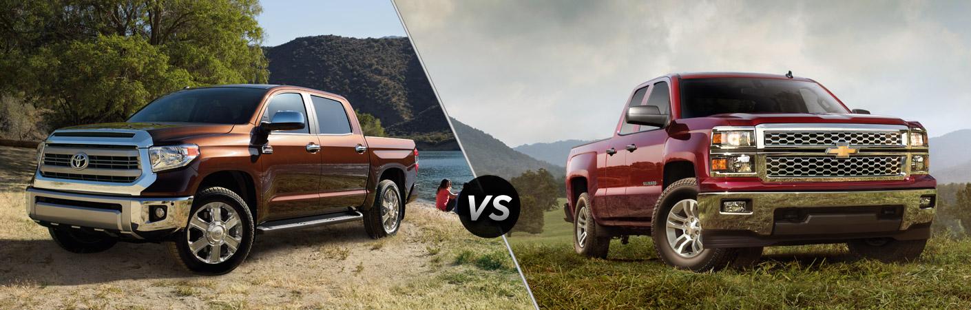 2014 Toyota Tundra vs 2014 Chevy Silverado