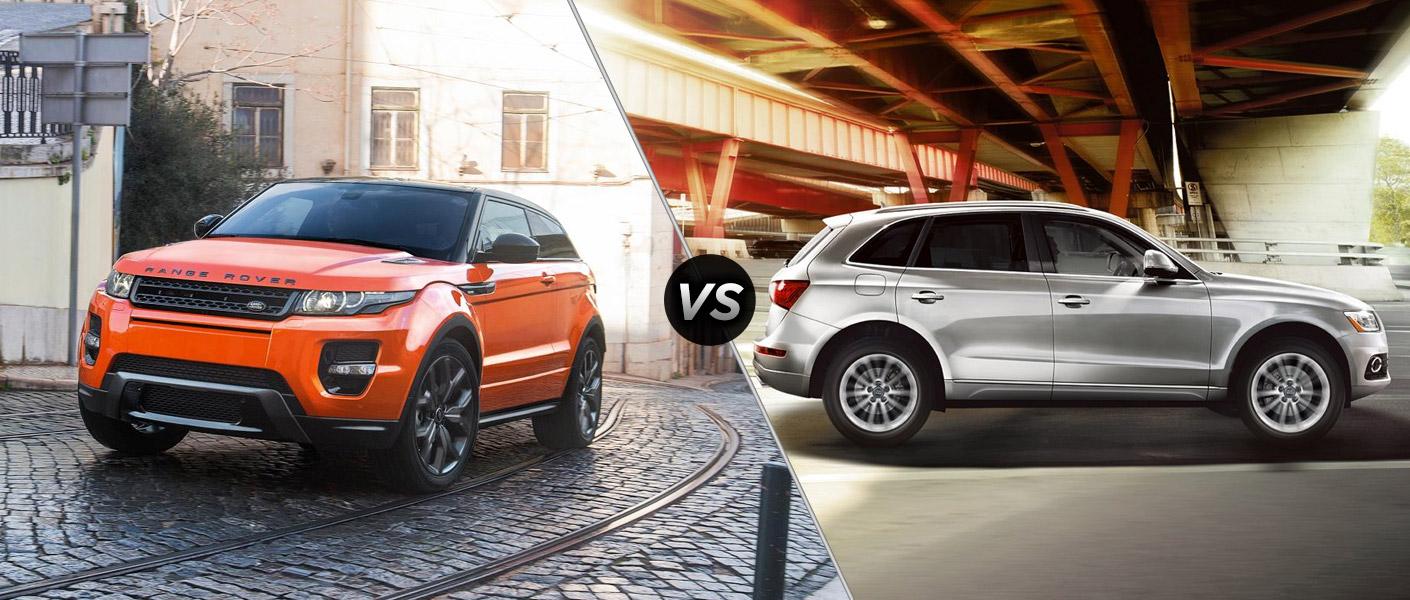 2015 Range Rover Evoque vs 2015 Audi Q5