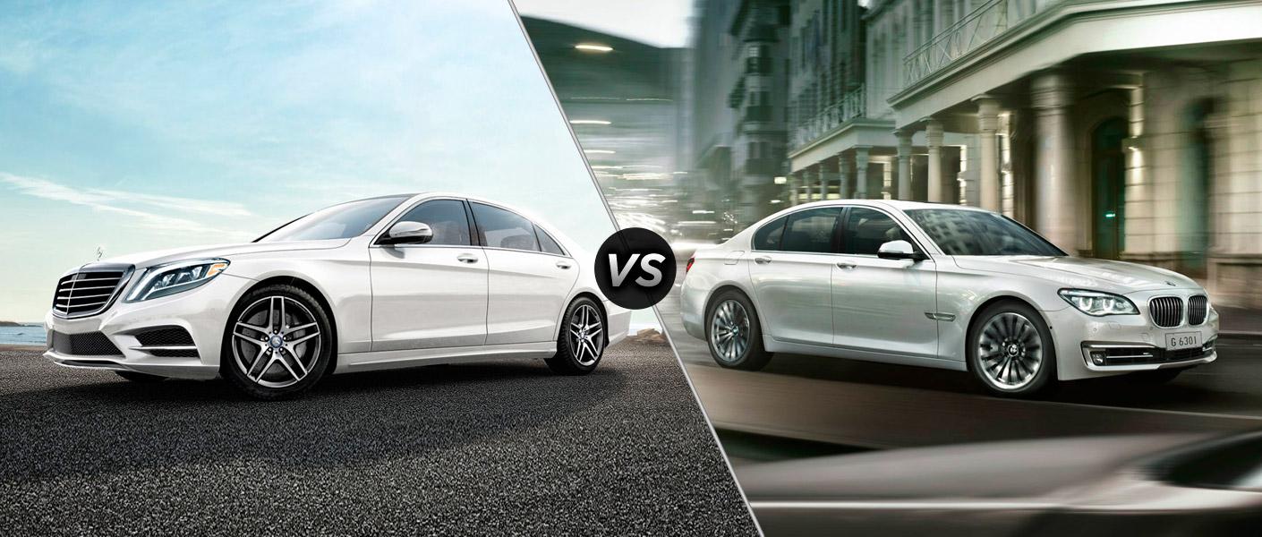 2014 Mercedes-Benz S-Class vs BMW 7 Series