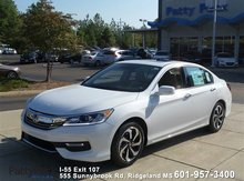 2016 Honda Accord Sedan EX-L Navigation & HS Jackson MS
